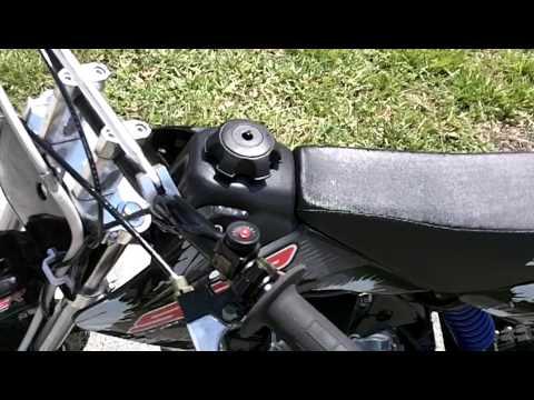 on Motor Pit Bike Ssr 110 Semi Auto