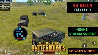 [Hindi] PUBG MOBILE | SO MANY CARS GETTING STREAM SNIPED & AMAZING CHICKEN DINNER
