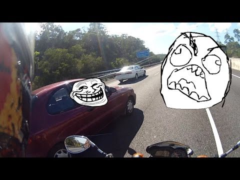 MOTORCYCLE CLOSE CALL GRR!!! + Phone Users & Filter Hazard (RC#21)
