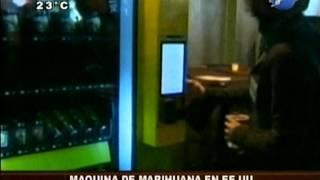 EEUU: lanzan máquina expendedora de marihuana - 15/04/14