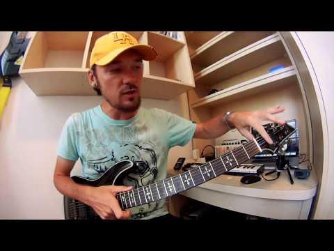 Зачем нужна резинка на грифе гитары
