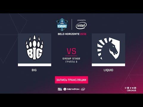BIG vs Liquid - ESL One Belo Horizonte - map1 - de_cache [Godmint, Anishared] thumbnail