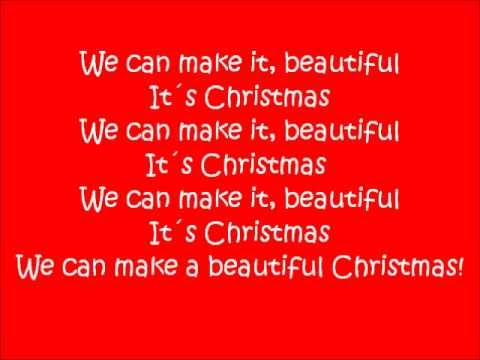 Beautiful Christmas - Big Time Rush - Lyrics