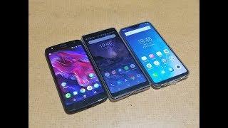 Nokia 7 Plus Vs Vivo V9 Vs Motorola Moto X4 - What to Buy Under Rs.25K ?