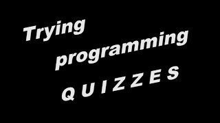 TRYING PROGRAMMING QUIZ || CODING QUOTES - PROGRAMMER LIFE