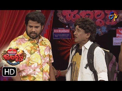 Hyper  Aadi Raijing Raju Performance   Jabardsth   22nd June 2017   ETV  Telugu thumbnail