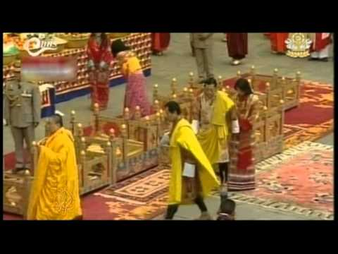 Bhutan celebrates royal wedding