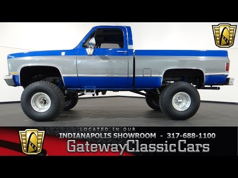Custom 1978 Chevy K10 4x4 Pickup Truck Lifted How To