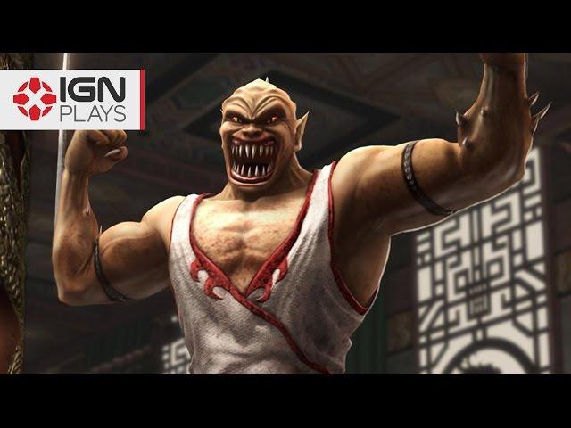 Mortal Kombat X: Baraka Mod Gameplay - IGN Plays