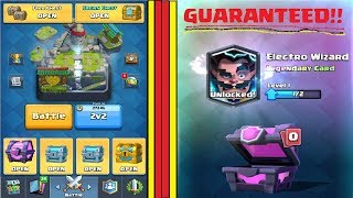 How To Get Legendary Card In Clash Royale |Getting Legendary Card Inside Magical Chest