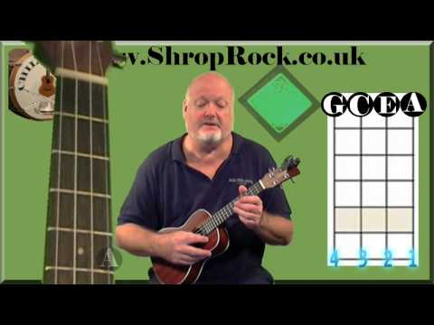 How To Play Really Easy Ukulele (1) Intro,Tuning & Strumming by Chili Monster
