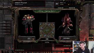 StarCraft: Remastered 1v1 Artosis' Games of SC:R (T) vs wkdtndqns (Z) Fighting Spirit