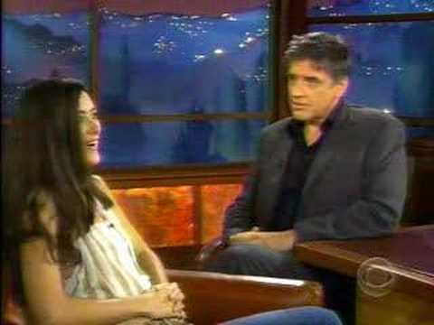Cote de Pablo at : Late Late Show with Craig Ferguson 7/12/0 Video