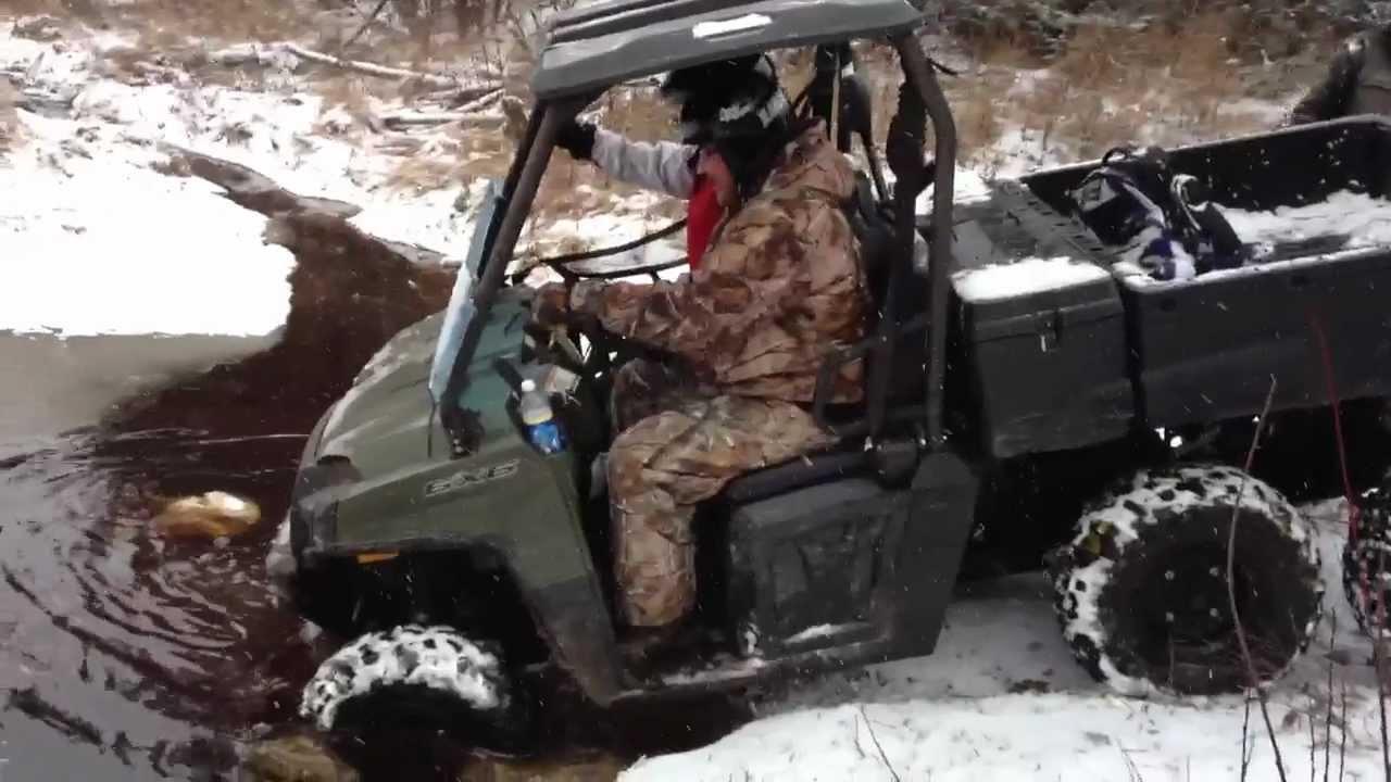 Tracks For Vehicles >> Polaris Ranger 800 6x6 - YouTube