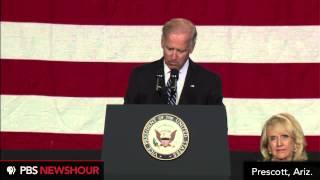 Watch VP Joe Biden Speak at Yarnell Hill Memorial  7/10/13