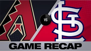 Goldschmidt, Wainwright lead Cards to win | D-backs-Cardinals Game Highlights 7/14/19