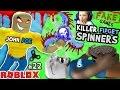 KILLER FIDGET SPINNERS ROBLOX!  John Doe Fidget Toe Oreos Surfin Bros (FGTEEV FAKE ROBLOX GAMES #22)