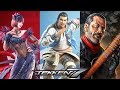 TEKKEN 7   ANNA, LEI WULONG & NEGAN Reveal Trailer @ 1080p (60ᶠᵖˢ) HD ✔
