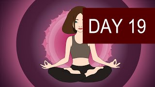 Crown Chakra Meditation - Higher Self and Intuition Development - Day 19