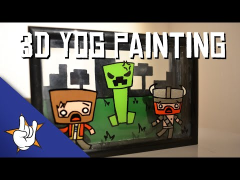 3D Yogscast Painting