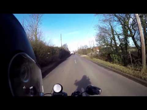 West Coast Trip on the Harley Davidson Iron 883 converted to 1200