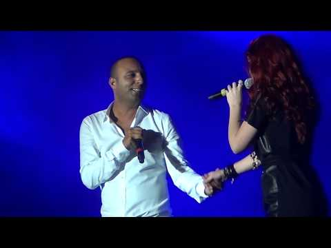 Arash Feat Emelie broken Angel Live  Media City Amphitheatre Dubai Jan 21 2012 video
