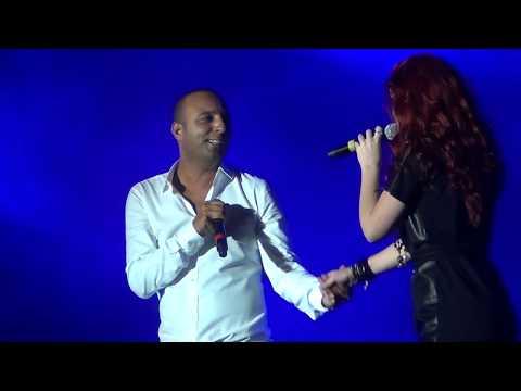 Arash Feat Emelie broken Angel Live  Media City Amphitheatre Dubai Jan 21 2012 video