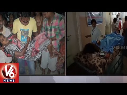 Karimnagar Man Shoots Pregnant Wife Due To Family Disputes   V6 News