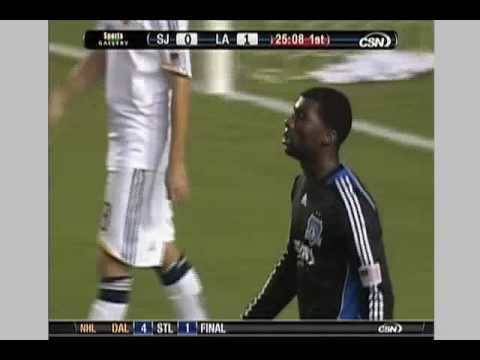 San Jose Earthquakes at Los Angeles Galaxy - Game Highlights 10/24/09 Video