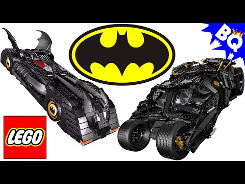 LEGO Batman UCS Tumbler 76023 VS UCS Batmobile 7784 Comparison Review