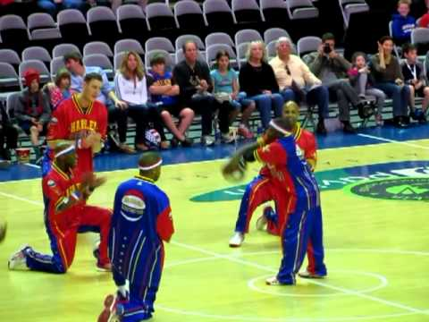 The Harlem Globetrotters in San Jose, January 2013