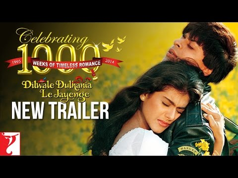 #20YearsOfDDLJ - Dilwale Dulhania Le Jayenge - New Trailer with English Subtitles