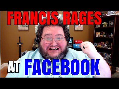 FRANCIS HATES FACEBOOK