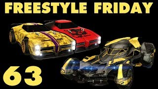 Freestyle Friday 63 in 3v3 (Rocket League Goals & Fails) | JHZER
