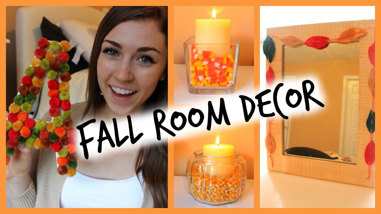 Diy easy fall room decor ways to decorate for How to decorate home in simple way