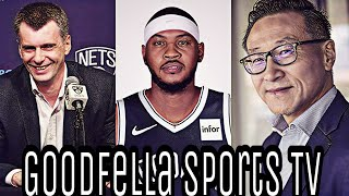 SHOCKER Brooklyn Nets & Barclays Center Sold to Joseph C. Tsai | Carmelo Anthony to Nets?