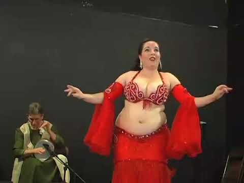 Mandanah's drum solo Belly Dance