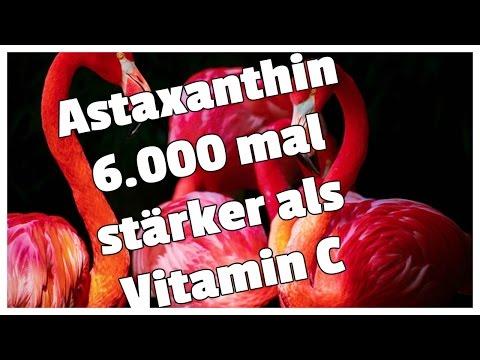 Astaxanthin ist 6000 mal stärker als Vitamin C