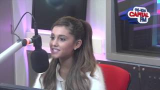 Ariana Grande Grande Talks About Her Relationship With Nathan from The Wanted