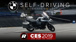 CES 2019: BMW's autonomous motorcycle doesn't need a rider | Self-driving bike