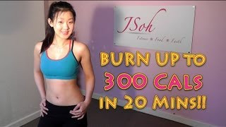 Burn Up To 300 Cals in 20 Mins! High Intensity Fat Burning Workout