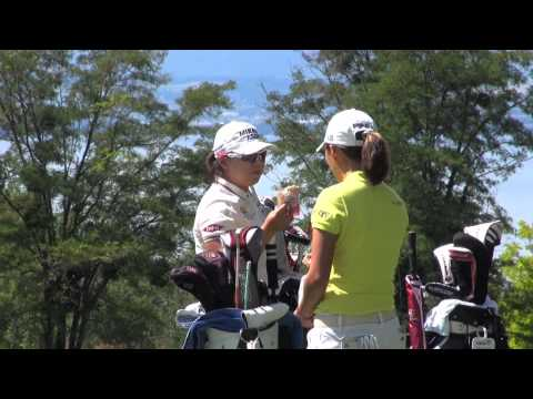 Evian Master 2011 - Golf - Yani Tseng, Ai Miyazato, Jiyai Shin...