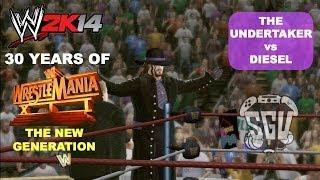WWE 2K14: 30 Years of Wrestlemania (EP15) - The Undertaker vs Diesel