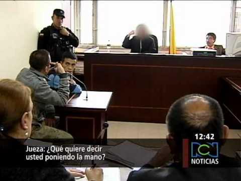 En Colombia (Bogot á), sicario amenazó a jueza mientras le imponía pena de 40 años de cárcel