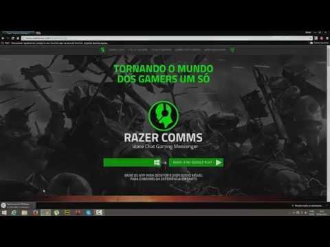 SovieticoS - Como instalar. Criar conta. e configurar o Razer Comms.