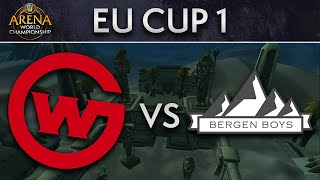 Wildcard Gaming vs Bergen Boys | Upper Quarters | AWC EU Cup 1