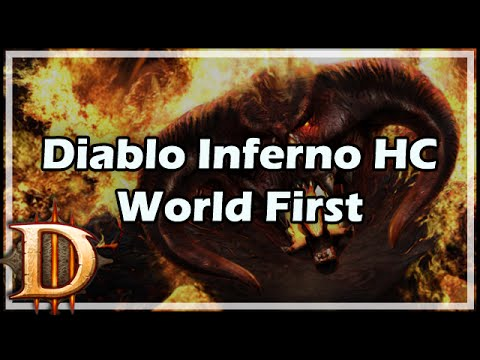 Kripp & Krippi vs Diablo - Inferno Hardcore World First (Barb PoV)