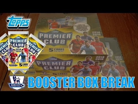 YouTube PREMIERE & █▬█ █ ▀█▀ 1 of 1 !!! ⚽️ Topps PREMIER CLUB 2014-2015 Trading Cards ⚽️ BOX BREAK!