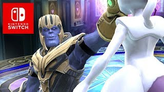 Super Smash Bros. Ultimate Thanos Reveal (Avengers DLC)