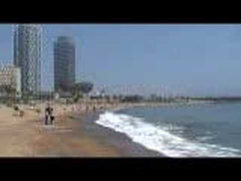 Barcelona Port and Beach! Video